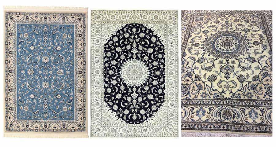 Collezione tappeti pregiati Nain
