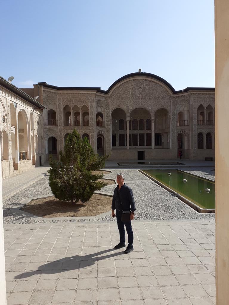 Haravi tappeti persiani nella città di Kashan